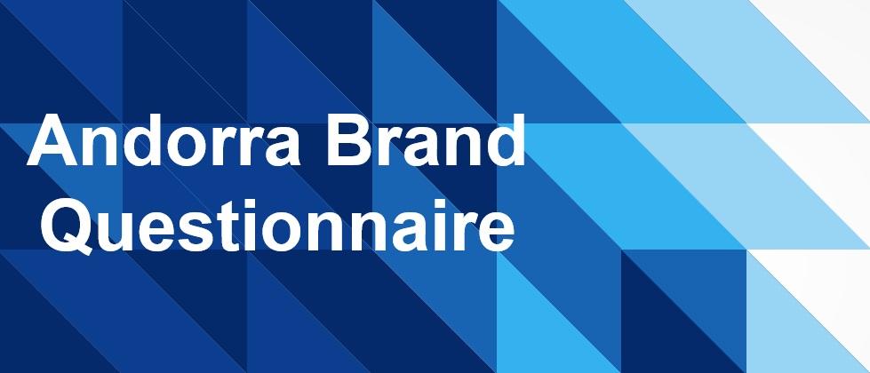 Andorra Brand Questionnaire