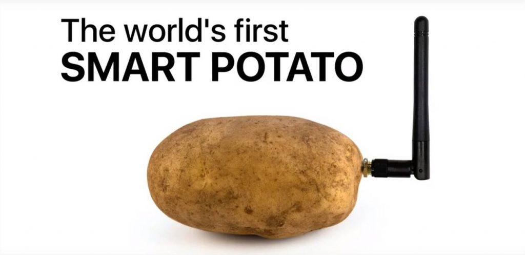 Smart potato, una conya en el saló tecnologic de las  Vegas