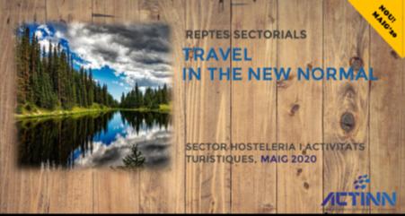 Reptes sectorials turisme travel new normal