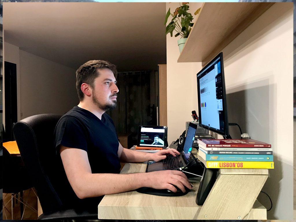 Como diseñar el éxito digital, el Sr Samuel Pimenta nos cuenta sus secretos d'Agile UX, como equivocarse rápido y contar nuestra historia.