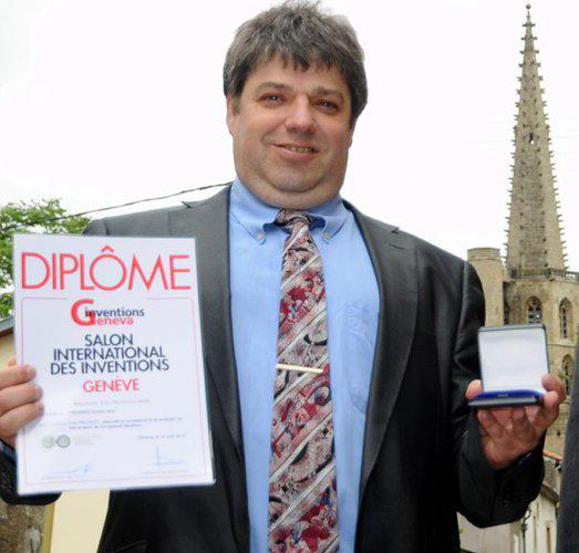 Freemindtronic , guanyador de la medalla d'or del saló d'invencions de ginebra 2021